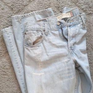 Men's Levi low bootcut jeans